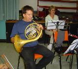 Sarg and Carolyn, French Horn and Bassoon