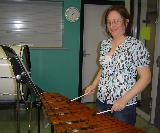Helen, our Xylophonist!