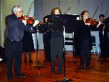 The String Ensemble was led by Peter Read