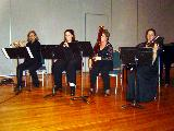 The Vivaldi - Cindy Abbey, Flute, Fiona Sawyer, Oboe, Carolyn Leslie, Bassoon and Carole McGregor, Violin