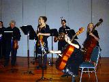 A section of the Horn Concerto ensemble