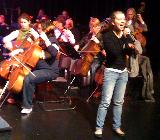 Felicity and the cellos