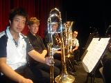 Xin and the low brass section
