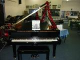 SHS piano getting in the Christmas spirit!!