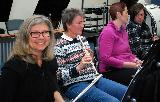 Flutes, oboe and clarinet