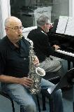 Brian and Bruce playing one of the jazz pieces