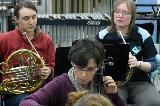 French Horns, Amy and Merinda