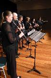 The Clarinet Ensemble played Blue Tango arranged by Parish, Autumn in New York by Vernon Duke and The Theme from New York New York by Kander.