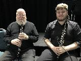 Eric Anderson and Johnathan Bentancourt, oboes