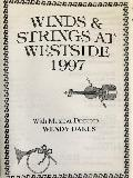 The cover of the program for the first concert in Westside Performing Arts Centre, Mooroopna - Winds and Strings at Westside 1997